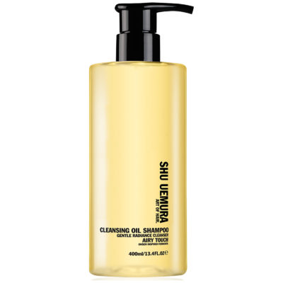Shu Uemura Art of Hair Color Lustre shampoing doux éclat Cleansing Oil 400 ml
