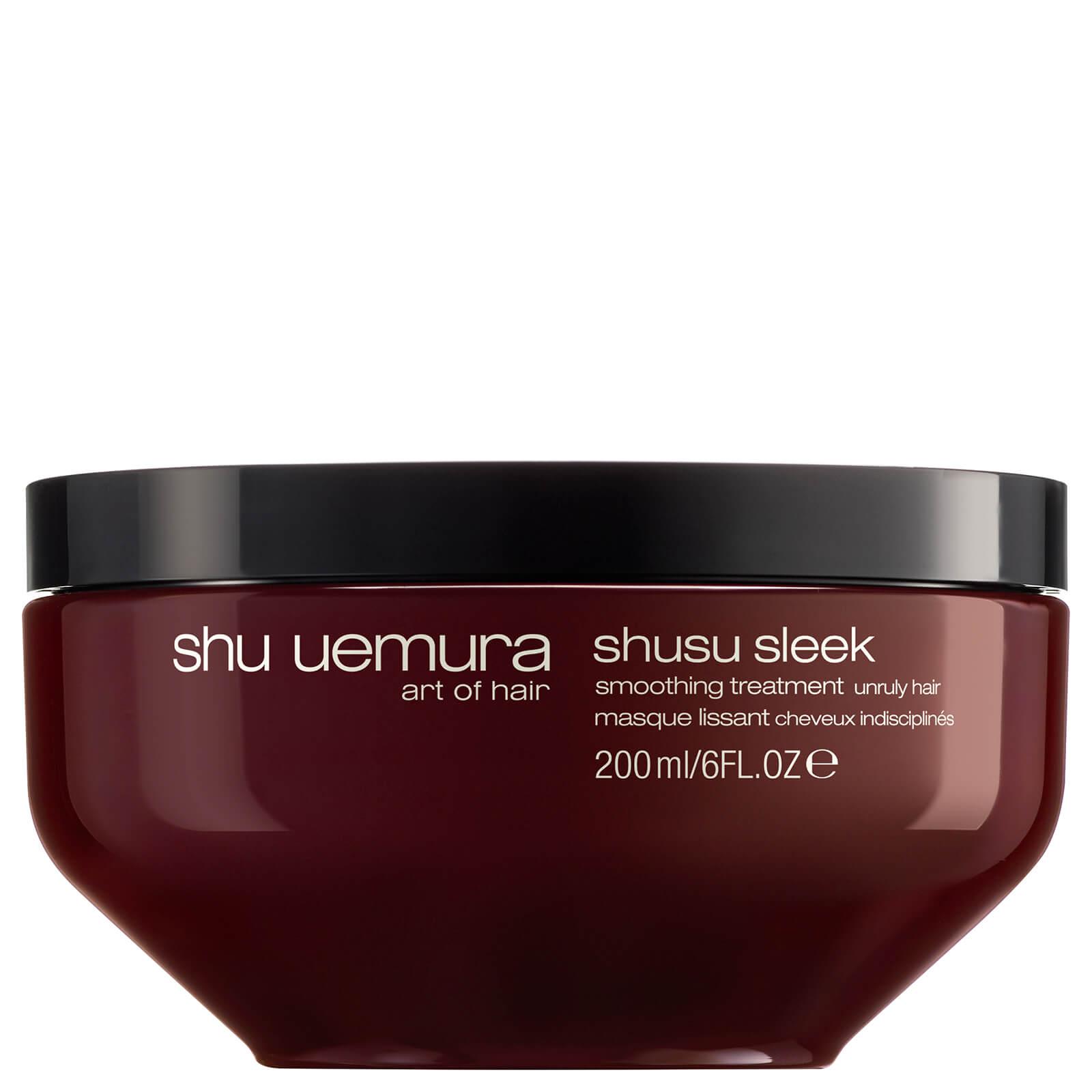 Shu Uemura Art Of Hair Shusu Sleek Masque lissant pour cheveux rebelles (200ml)