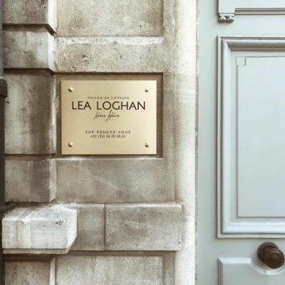 plaque de rue Lea Loghan