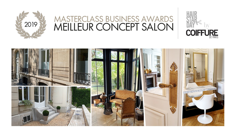 "MASTERCLASS BUSINESS AWARDS ""MEILLEUR CONCEPT SALON"" 2019"
