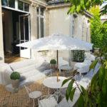Jardin / espace détente de la Maison de Coiffure Lea Loghan